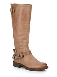 Arturo Chiang Ella Leather Boots Brown