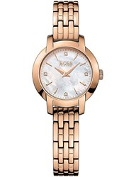 Boss 1502379 Success Rose Gold Plated Stainless Steel Watch