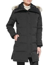 Canada Goose Shelburne Parka With Fur Hood Charcoal