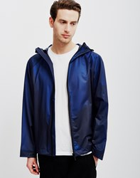 Hunter Original Vinyl Windcheater Jacket Blue