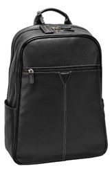 Johnston And Murphy Men's Leather Backpack