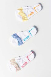 Converse All Star Pin Stripe Ankle Sock 3 Pack Neutral Multi