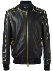 Blood Brother Guinness Exclusive Raised Leather Jacket Black