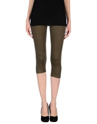 Just For You Trousers Leggings Women Military Green
