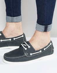 Kg By Kurt Geiger Boat Shoes In Navy Navy Blue