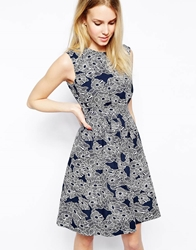 Emily And Fin Emily And Fin Lucy Dress Navy