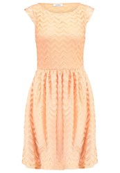 Maxandco. Primizia Cocktail Dress Party Dress Mandarin Orange