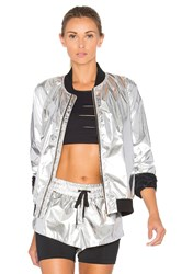Lovers Friends Work By Love Of The Chase Bomber Metallic Silver