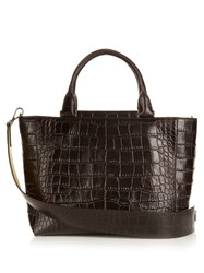 Max Mara Shopping J Bag Dark Brown