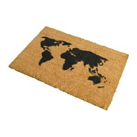 Artsy Doormats Map Door Mat