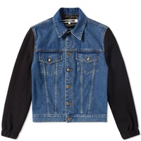 Mcq By Alexander Mcqueen Sophisticated Denim Jacket Blue