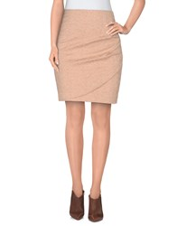 Attic And Barn Attic And Barn Skirts Knee Length Skirts Women Skin Color