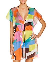 Milly Graphic Tunic Swim Cover Up