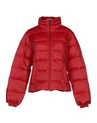 Calvin Klein Jeans Down Jackets Brick Red