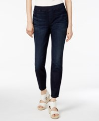 Eileen Fisher Organic Cotton Blend Pull On Jeggings Regular And Petite Utility Blue