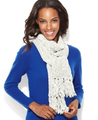 Charter Club Chenille Shaker Scarf Ivory