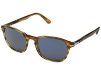 Persol 0Po3148s Striped Brown Yellow Blue Fashion Sunglasses