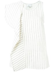 3.1 Phillip Lim Cascading Ruffle Tank Top Nude And Neutrals