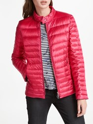 Gerry Weber Quilted Down Fill Jacket Pink