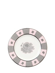 Blumarine Rose Lace Set Of 6 Bread Plates