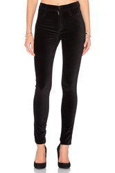 James Jeans High Class Velvet Skinny Ebony