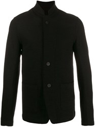 Transit Textured Shirt Jacket Black