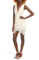 Astr Women's Caroline Minidress Vintage Cream