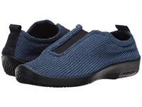 Arcopedico Es Denim Women's Slip On Shoes Blue