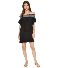 Roxy Firefly Lights Dress Cover Up Anthracite Swimwear Pewter