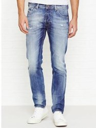 Diesel Thommer Slim Leg Tapered Jeans Blue
