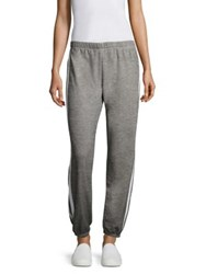 Wildfox Couture Easy Side Taped Sweatpants Heather