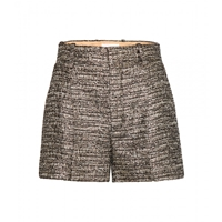 Chloe Metallic Shorts Gold And Black