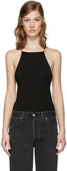 Alexander Wang T By Black Low Back Bodysuit