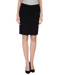 Dekker Skirts Knee Length Skirts Women Black