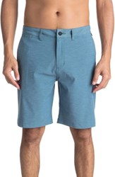 Quiksilver Union Heather Amphibian Shorts Real Teal