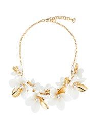 Ted Baker Bao Gold Large Blossom Necklace Gold