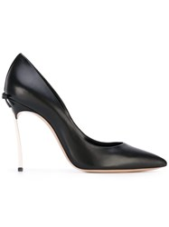 Casadei Pointed Pumps Women Leather 40 Black