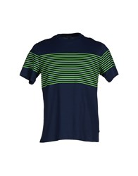Surface To Air Topwear T Shirts Men Dark Blue
