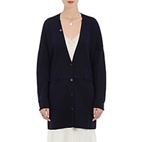 Maison Mayle Women's Bette Wool Silk Long Cardigan Navy