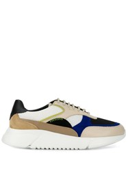 Axel Arigato Lace Up Sneakers Neutrals