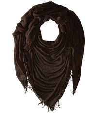 Chan Luu Cashmere And Silk Scarf Mulch Scarves Brown
