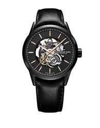 Raymond Weil Freelancer Automatic Skeleton Watch Black