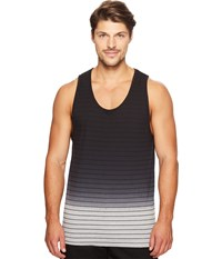 Globe Moonshine Singlet Grey Marle Dip Men's Sleeveless Black