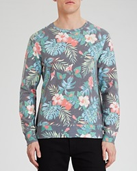 Sol Angeles Floral Noir Sweatshirt