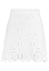 Endless Rose Scallop Lace Aline Skirt Aline Skirt Offwhite Off White