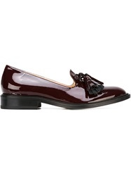 L'autre Chose Tasselled Loafers Red