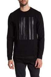 Antony Morato Graphic Crew Neck Sweater Black