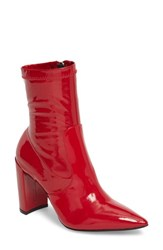 Chinese Laundry 'S Raine Boot Red Patent