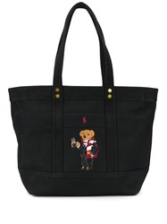 Polo Ralph Lauren Embroidered Bear Tote Bag 60
