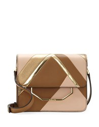 Louise Et Cie Towa Leather Crossbody Bag Light Brown